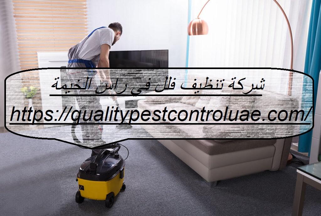 شركة تنظيف فلل في راس الخيمة